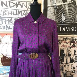 Vintage 70's J.G. Hook Dress